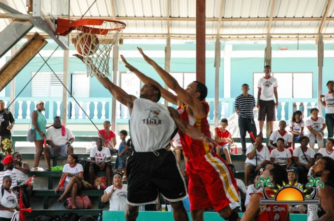 San Pedro Tigersharks Win First Game Cayo Western Ballaz-8