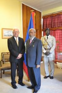 US Ambassador Carlos Moreno presented credentials2