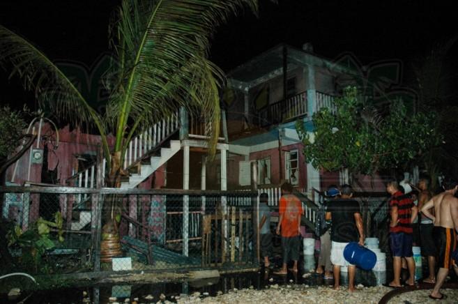 Boca Del Rio Fire San Pedro Ambergris Caye-12