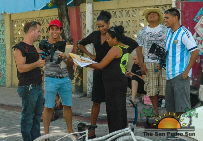 Filming of La Isla Bonita Novela-1
