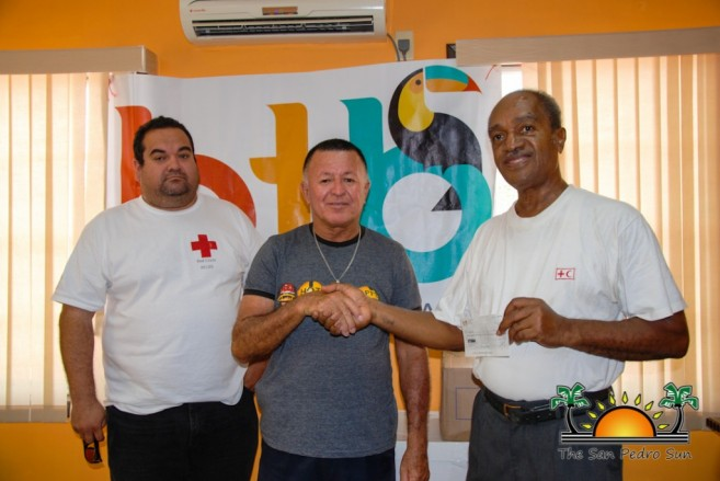 Manuel Heredia Donates to Fire Victims-1