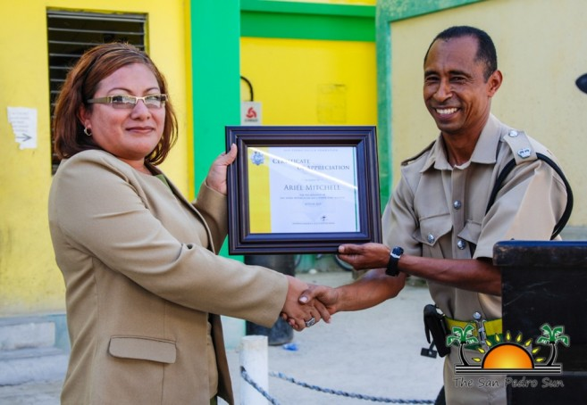 Social Security Donates San Pedro Police-7