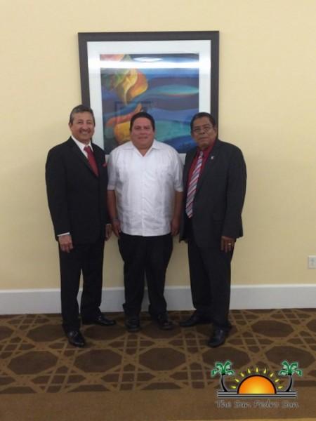 San Pedro Mayor Daniel Guerrero Bahamas CALGA-1