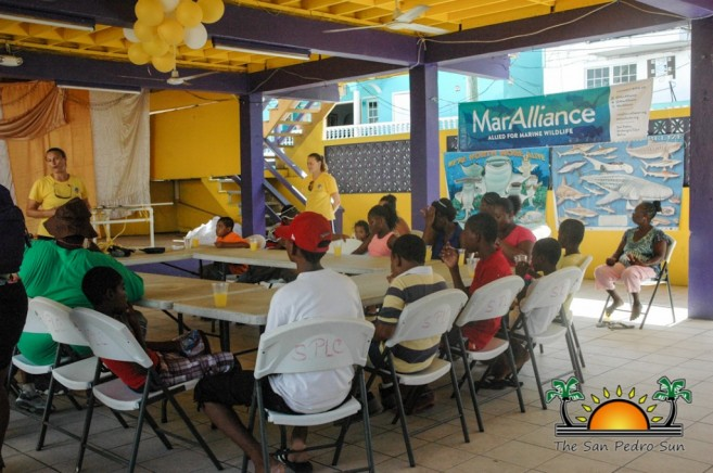 Kids Meet Sharks Southside Belize City-1