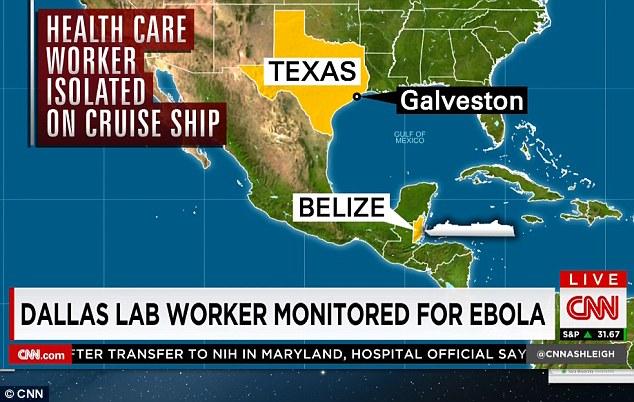 42 Ebola Scare Caribbean Cruise