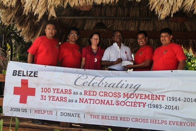 Hellfighters Donate to Red Cross-2