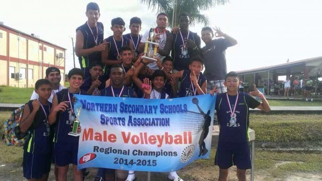 SPHS Boys Volleyball Team 1