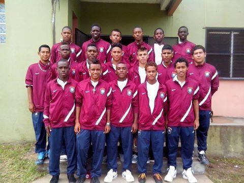 43 Belize U-17 National Team