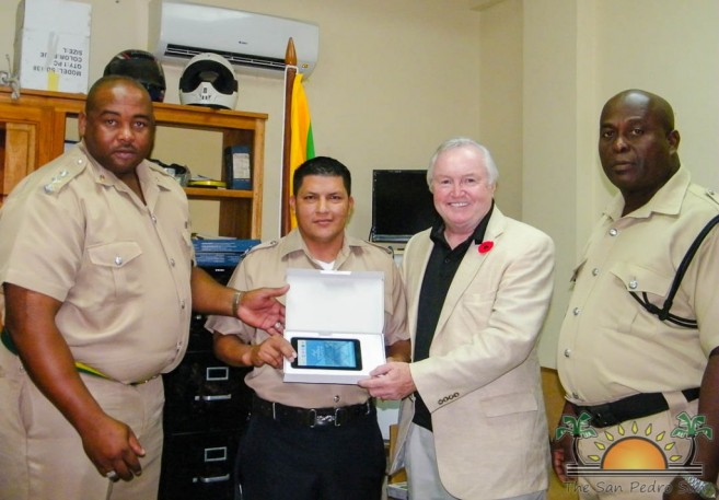 Officer of the Month Victor Tush (2 of 3)