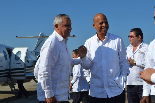 49 PM Barrow and President Molina- Bilateral Agreement