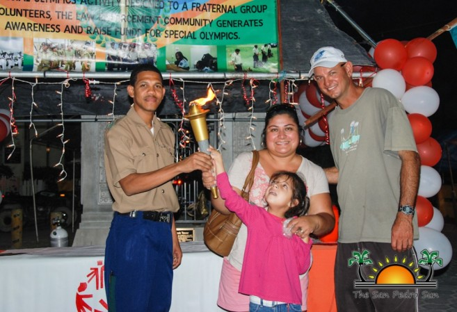 Belize Special Olympics Torch San Pedro-4