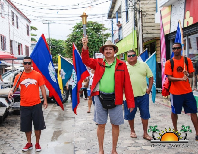 Belize Special Olympics Torch San Pedro-8