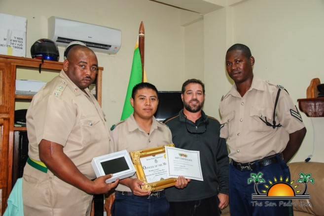 Hector Blanco November Officer Month-2