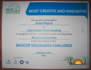 Ocean Academy Sagicor Winners-1