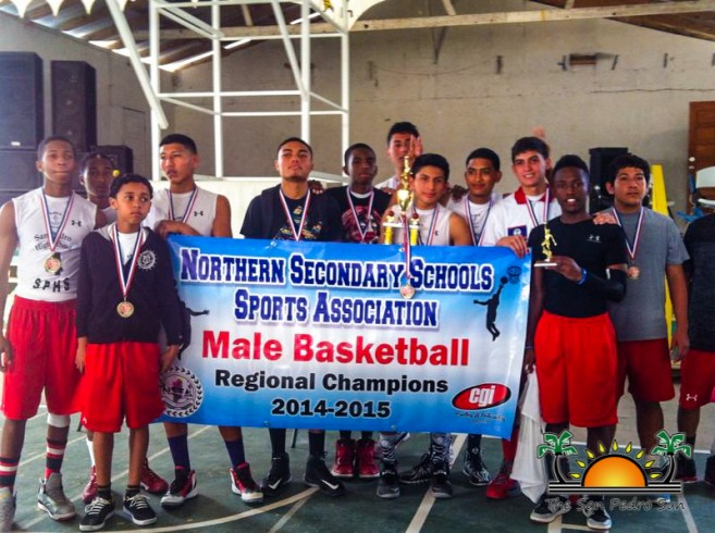 SPHS Males Northern Regionals Basketball Champs-8