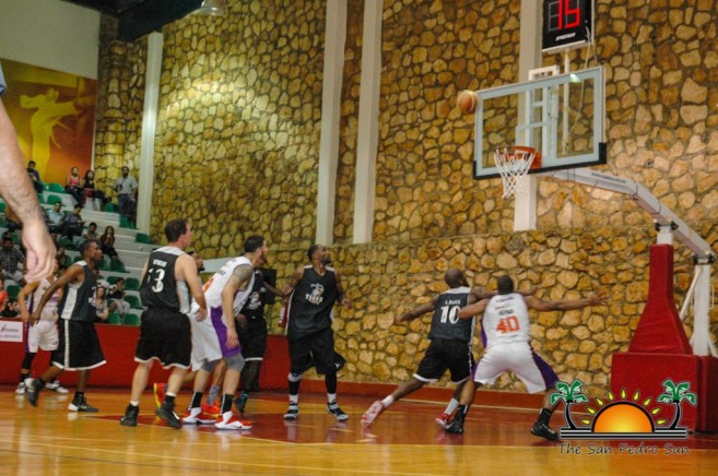 Tigersharks vs Palomeros Mexico Basketball Game-12