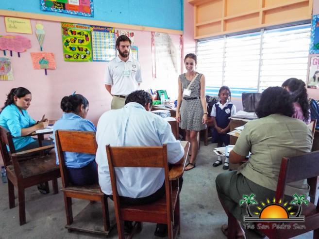 SPRCS Teacher Workshop CNU Students-1