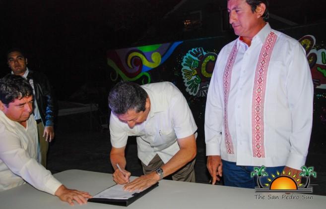 Sister City Intent Signing San Pedro Bacalar-3