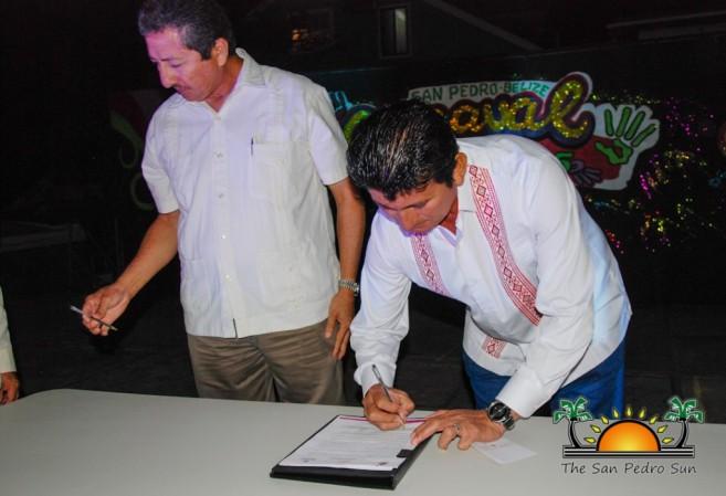 Sister City Intent Signing San Pedro Bacalar-4