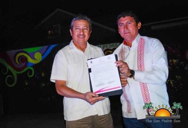 Sister City Intent Signing San Pedro Bacalar-5