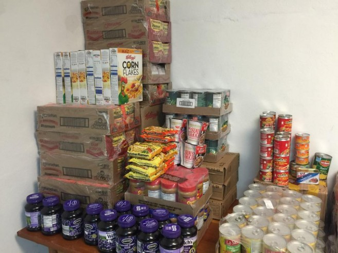 Donation to Food Bank-2