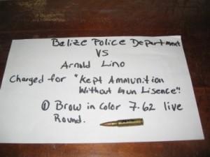 Kept Prohibited Ammunition