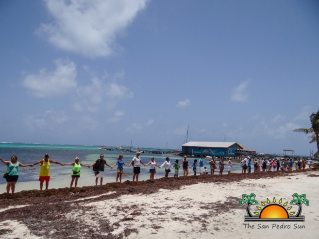Oceana in Belize Hands Across the Sand-7