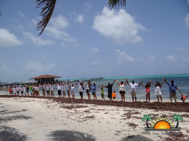 Oceana in Belize Hands Across the Sand-8