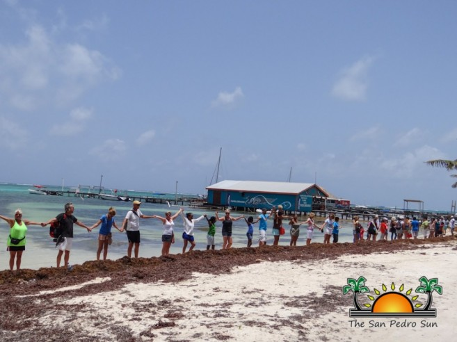 Oceana in Belize Hands Across the Sand-9