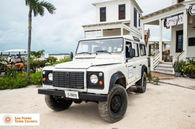 23 Land rover donated by Mahogany Bay
