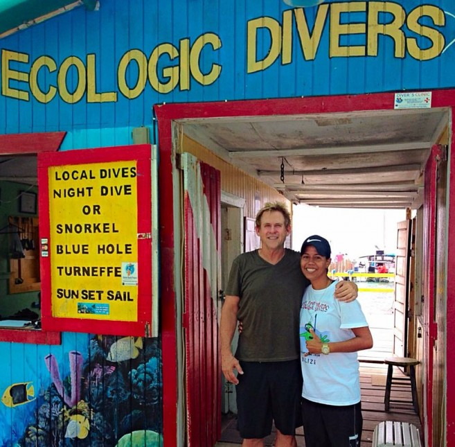 25 Michael Dudikoff at Ecologic Divers