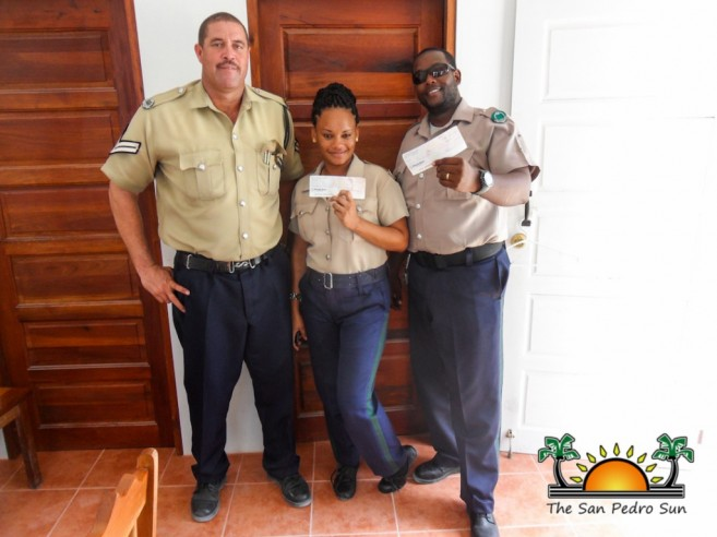 Caye Caulker Police Awarded-1