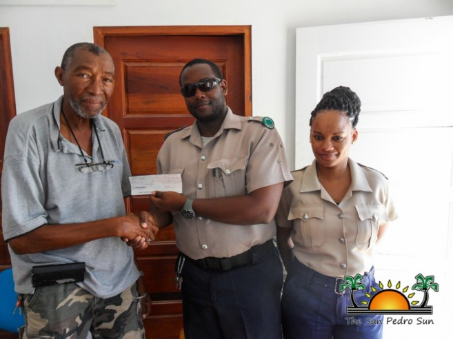 Caye Caulker Police Awarded-2