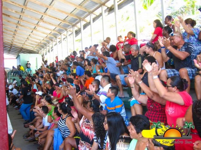 San Pedro Tiger Sharks NEBL Champions Crowd-1
