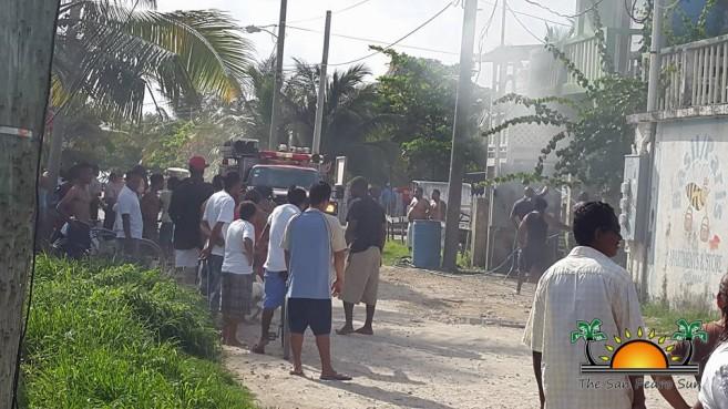 Golf Cart Fire Boca Del Rio-1