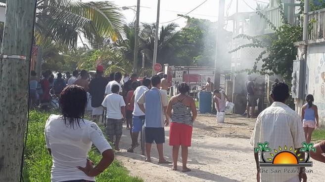 Golf Cart Fire Boca Del Rio-2