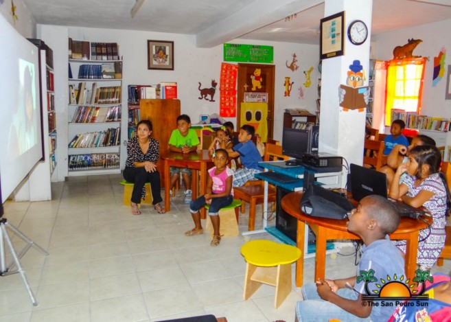 San Pedro Town Library Technology Camp-2