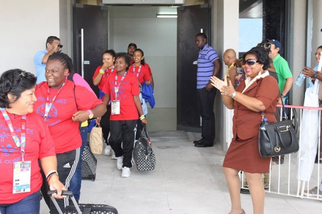 Belize at Special Olympics (1)