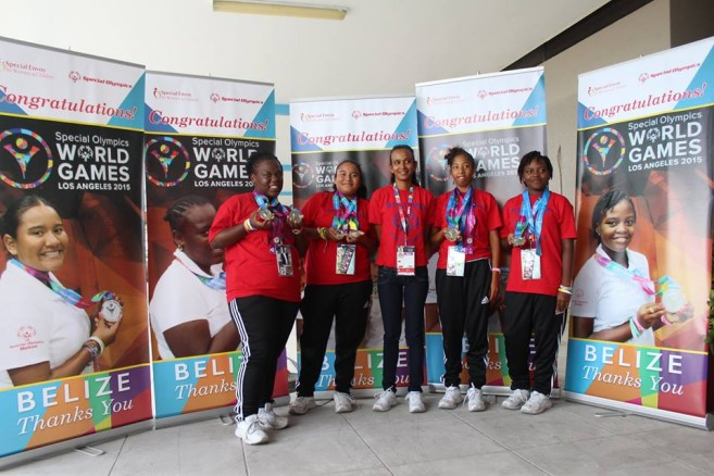 Belize at Special Olympics (3)