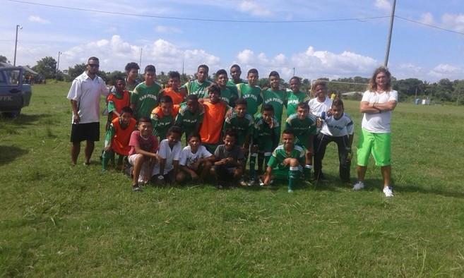 San Pedro U-15 team