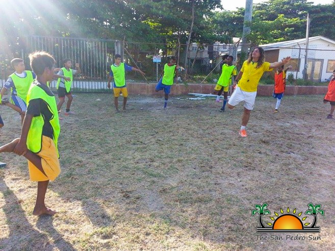 Under 15 Football Training Camp-3