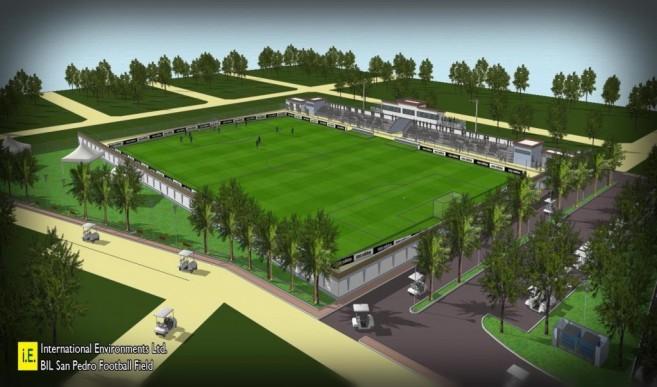 Ambergris Stadium plans