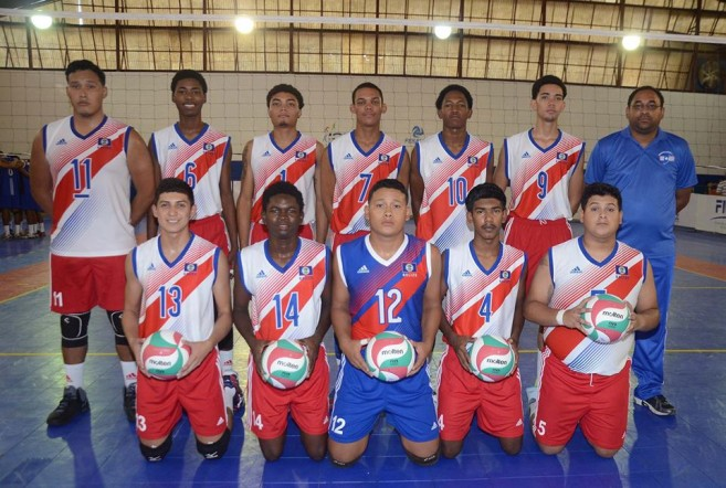 Belize at Central American Volleyball Championship (8)