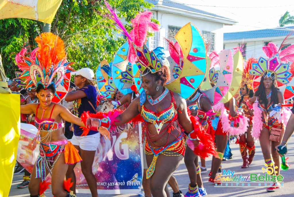 2015 carnival road march brings color and culture to belize city