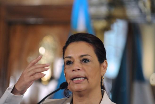 Guatemala's Vice-President Roxana Baldetti
