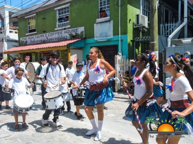Independence Jump Up Parade San Pedro Town-19