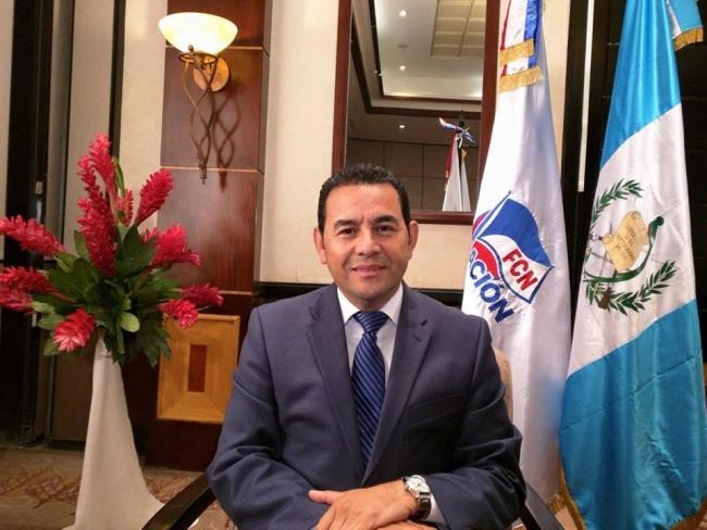 42 Guatemala President Jimmy Moralez