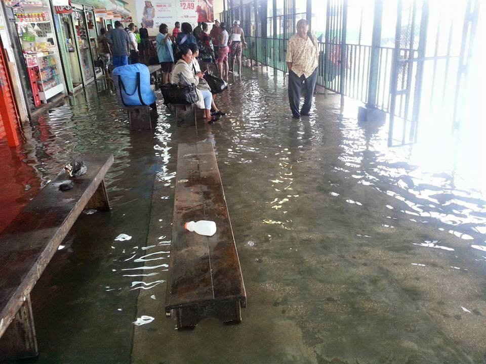 Heavy Rainfall Causes Flooding Across The Country The