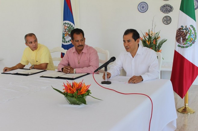 001 - MOH Belize and Merida Agreement Signing