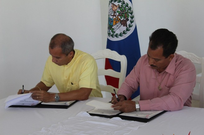 002 - MOH Belize and Merida Agreement Signing